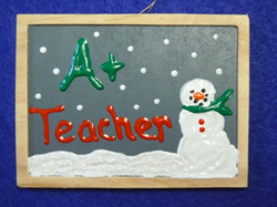 how to make a teachers ornament