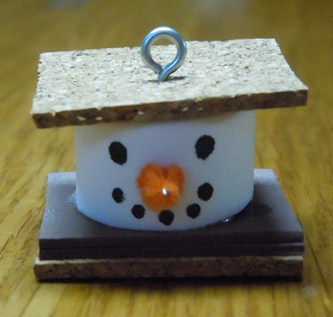 S'more Snowman Ornament