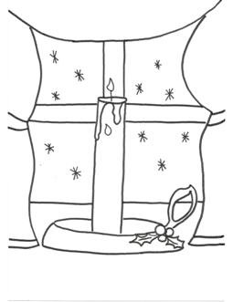 Free Christmas Coloring Pages Family Activity