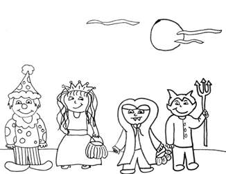 Free Fall, Halloween & Thanksgiving Coloring Pages from ...