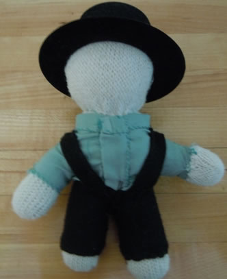 how to make an Amish doll