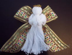 angel ornament craft