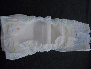 step by step diaper wreath instructions