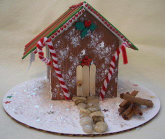 make a gingerbread house