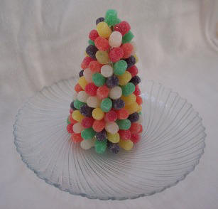 gumdrop christmas tree