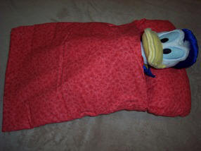 Doll sleeping bag - American Girl doll size