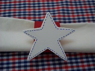 draw accents on your star to give it a country look