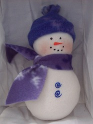 snowman sewing pattern