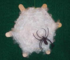 halloween spider web craft - Halloween Spider Craft Ideas