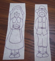 Trace the Pilgrim from our full size pattern