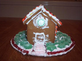 Gingerbread house picture by Anthony, Methuen, MA