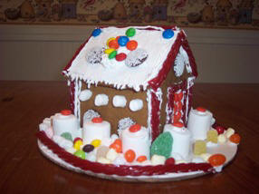 Gingerbread house picture from Brian Methuen, MA
