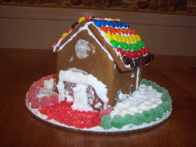 Gingerbread House picture submitted by CJ, Methuen, MA