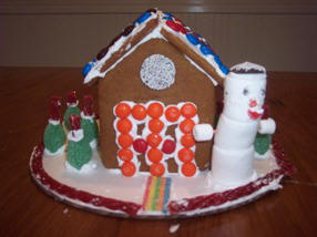 Gingerbread House Photo by David, Methuen, MA