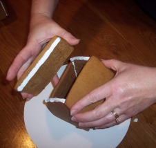 Family Christmas project - individual Gingerbread Houses