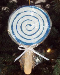 Christmas craft ideas - lollipop ornament