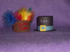 How to make Pilgrim hats and Indian Headdresses