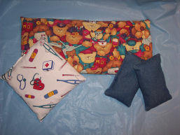 Free sewing instructions to craft hot and cold packs