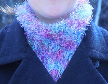 Free Knitting Pattern - Hooded Scarf - Craftown.com