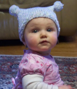 free knitting pattern - infant & toddler hat