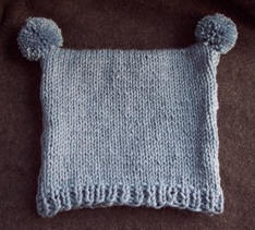Knitting  Infant and toddler knit hat pattern  Craft Elf b880fed6ca9