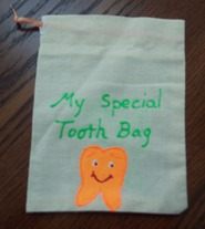 how to make a tooth fairy bag