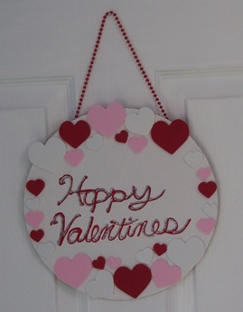 Easy Kid S Valentine S Day Craft Door Sign