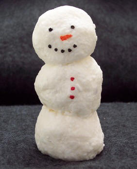 how to make soap snowman