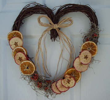How To Dry Fruit How To Make A Dried Fruit Wreath