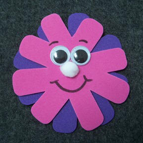 Craft Ideas Simple on Craft  Make Flower Magnets   Project Instructions  Craft Elf