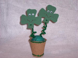 kids craft ideas for St. Patricks day