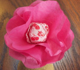 Lollipop Flower Valentine by Craft Elf