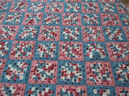 Crochet Patterns Granny Square Afghan