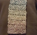 homespun crochet scarf