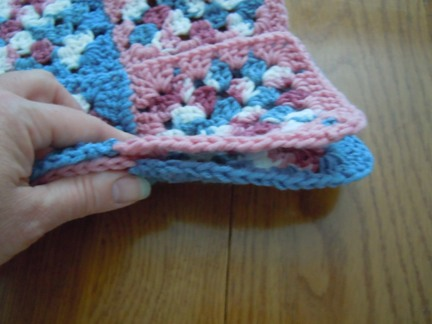 how to join granny square rows