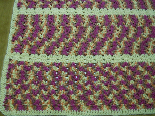 Crochet Afghan Pattern Twin V Stitch