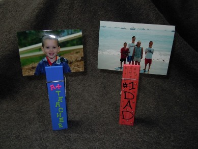 How to make a Clothespin Photo Holder | Craft ideas for kids