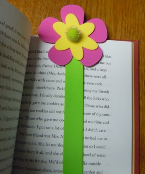 Craft foam crafts; make bookmarks