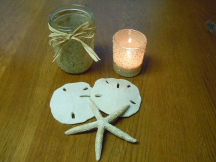 Craft with sand; mothers day crafts