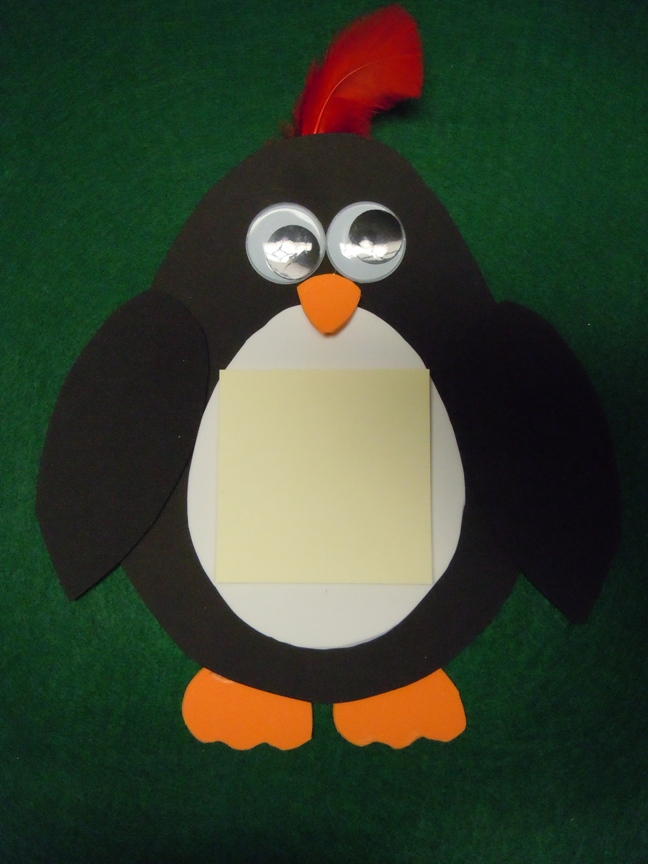 Penguin crafts for Penguin project