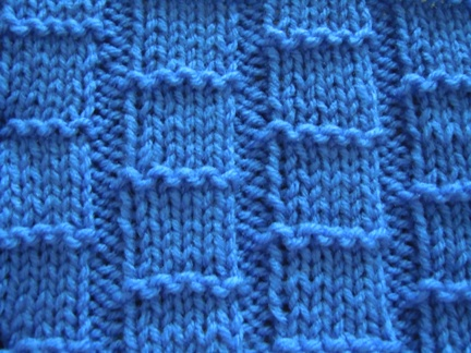how to knit using bamboo knitting stitch pattern