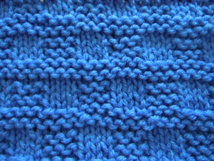 How to knit; knitting stitch patterns