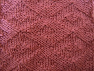 diamond eye knitting pattern