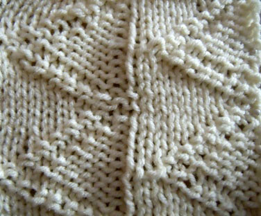 learn how to knit the harbor flag knitting stitch