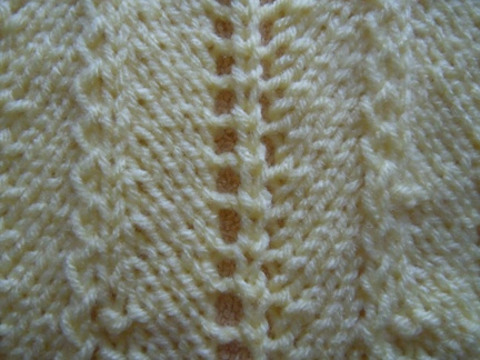 Knitting Stitches Chevron : Chevron and feather knitting stitch; how to knit