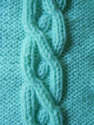Cable Knitting Stitches Patterns : Crossing Paths Cable knitting stitch; how to knit