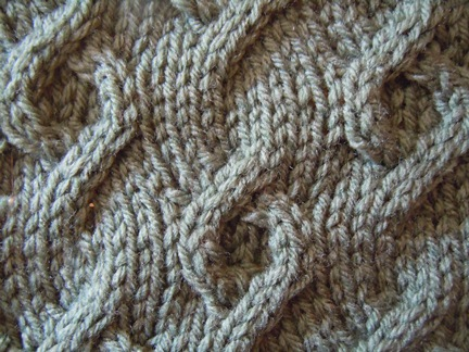 Different Cable Knitting Stitches : Embedded donuts knitting stitch; how to knit