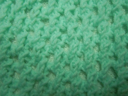 Fancy Openwork knitting stitch