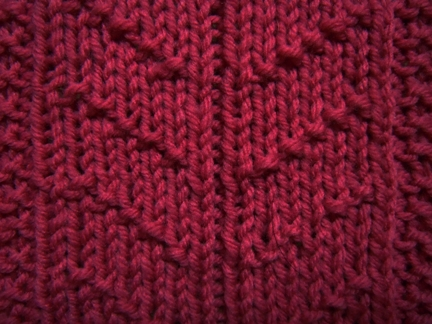 Little Chevron Rib Knitting Stitch How To Knit