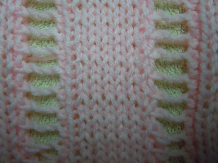 Open Work Ladder Knitting Stitch How To Knit
